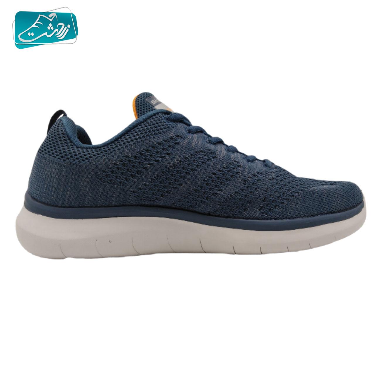 کفش پیاده روی مردانه اسکچرز مدل Bounder_52388_B