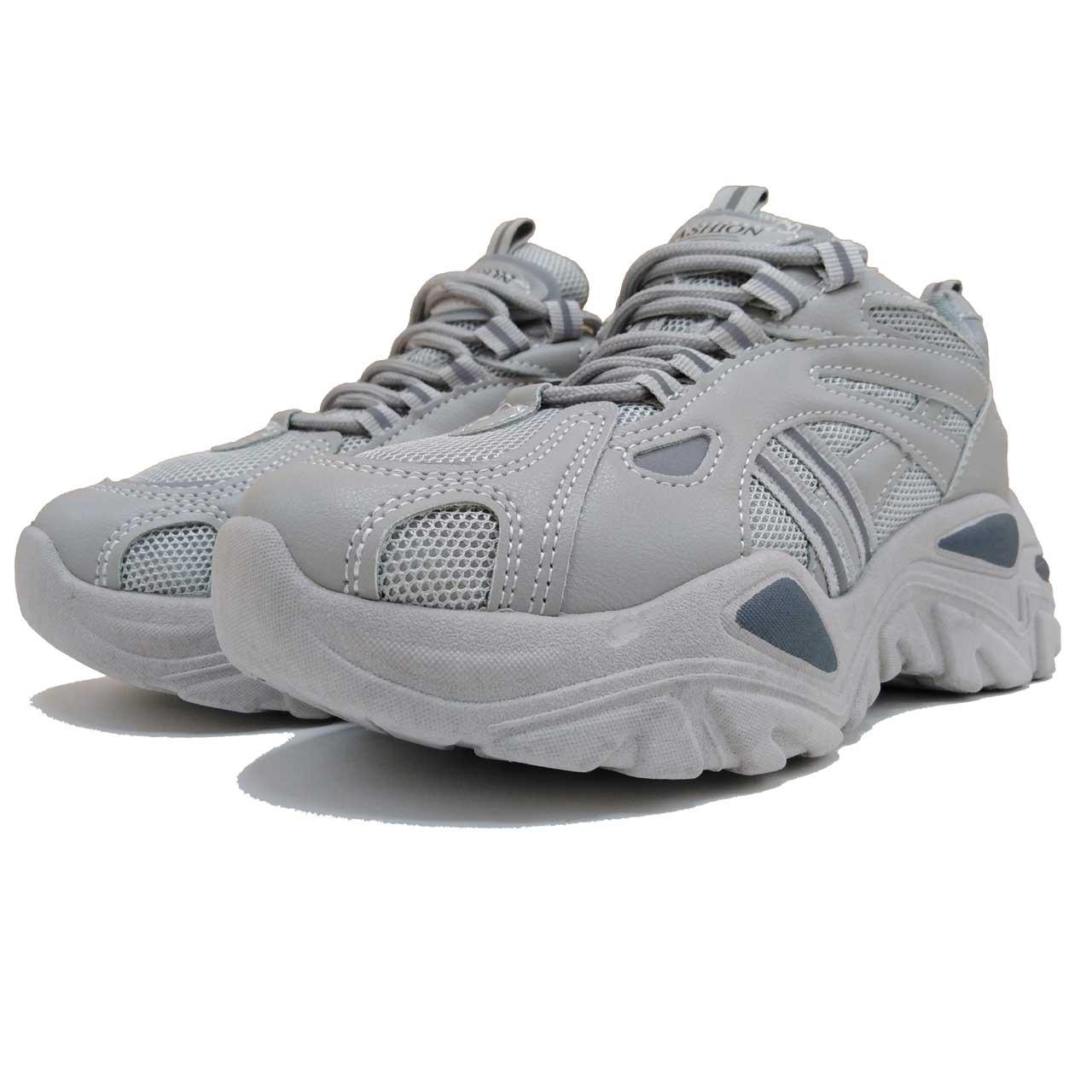 کفش پیادروی فشن زنانه مدل C1_GREY